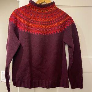 Eddie Bauer wool turtleneck size medium NWT